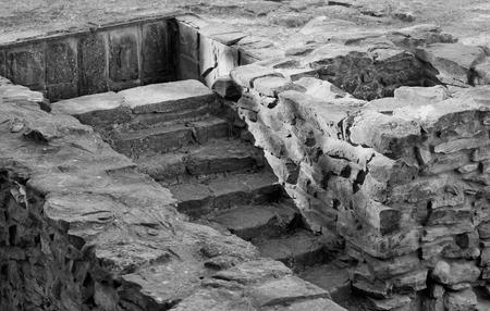 basement: The ancient city Gorgippia basement of the house Stock Photo