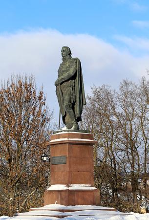 mikhail: The monument to the great Russian commander Mikhail Illarionovich Kutuzov - Smolensky