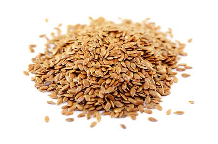 usitatissimum: Seeds of flax Stock Photo