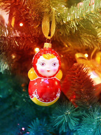 matroshka: Beautiful Russian toy matryoshka