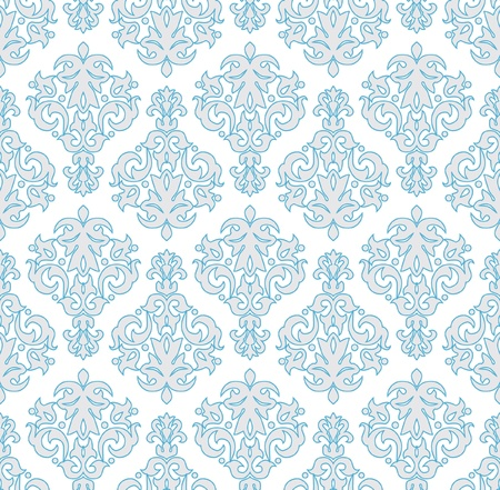 Seamless  wallpaper pattern in  vintage style.  Vector