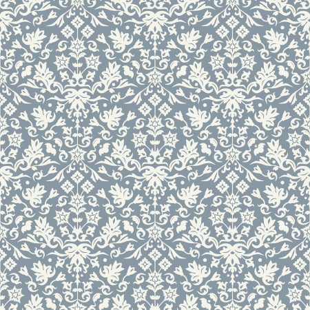 Seamless floral pattern for background design