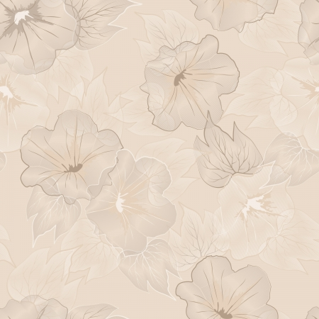 Abstract elegant floral seamless pattern Stock Vector - 15351592