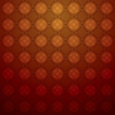 Lujoso patr�n de cosecha perfecta para el dise�o de papel tapiz de fondo. Los efectos se ver�n en un fondo de cualquier color debido a la transparencia y diversos modos de fusi�n. Los colores de fondo puede ser cambiado f�cilmente. Vectores