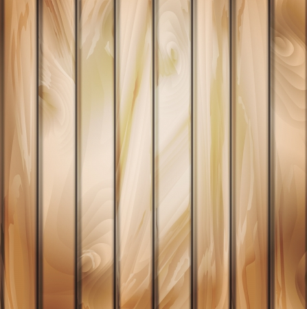 Wall panels with wood detailed texture.  EPS 10 file. Image contain transparency and blending modes. Vector