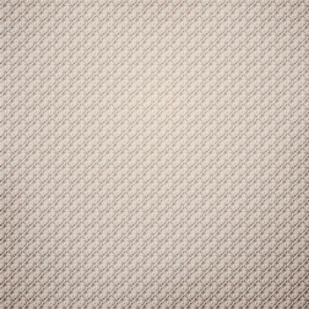 Seamless texture tissu beige avec motif de pixels subtile pour EPS design fond illustration 10