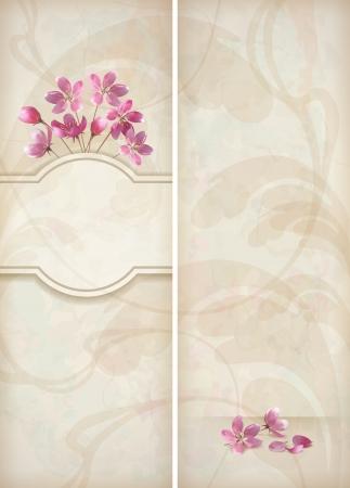Floral decorativo Vectores