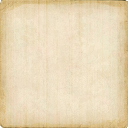 Cardboard vector texture background with ragged edges. Old paper sheet