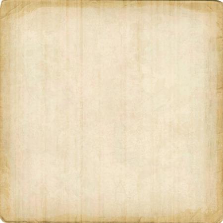 Karton Vektor Textur Hintergrund mit unregelmäßigen Kanten. Altes Papierblatt