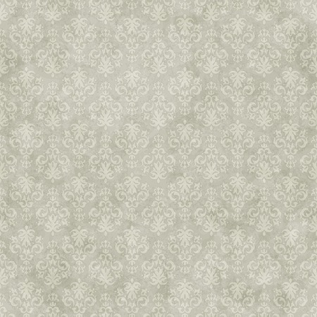 Vintage seamless pattern background on subtle grunge wallpaper texture