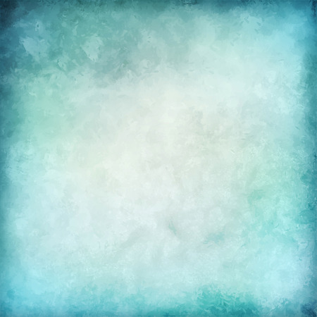 Abstract blue vector watercolor background with subtle grunge texture as cloudy blue sky
