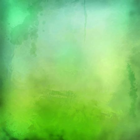 kifejező: Dekoratív vektor grunge akvarell háttér expresszív festészete textúra textúra Illusztráció