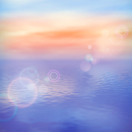 Sea background calm and clear. Marine panoramic landscape