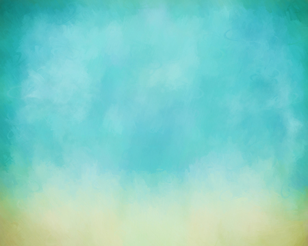Sky digital watercolor abstract background with painting texture
