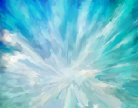 dramatic: Blue abstract dramatic artistic colorful vintage oil painting background