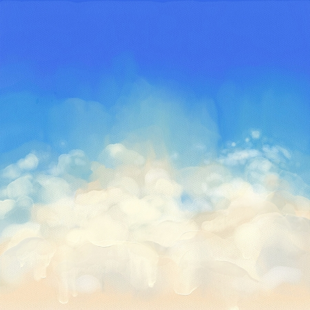 空デジタル水彩画。キャンバスの微妙な質感を持つ芸術的な抽象的な背景 写真素材 - 50931188