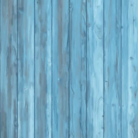 madera rústica: Antecedentes de madera. La textura del vector abstracto en colores azules Vectores