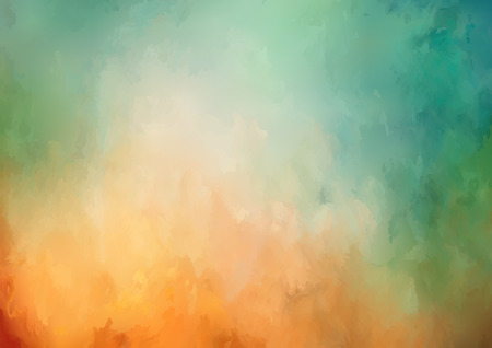 Vector abstract watercolor background with painting texture
