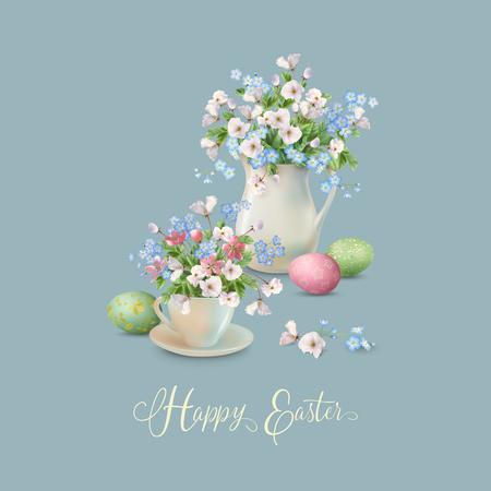 Vector Easter Card