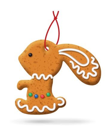 lapin: Gingerbread icon.