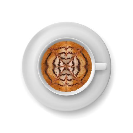 Vector Coffee Cup illustration Stock Illustratie