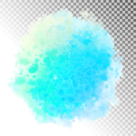 Abstract Watercolor Splash Ilustração