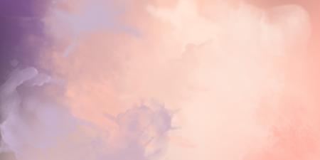 Fond aquarelle de vecteur rose décoratif avec texture de peinture Vecteurs