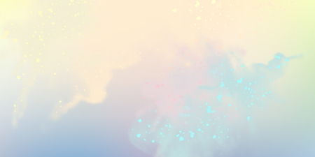 Decorative sky vector watercolor background with painting texture