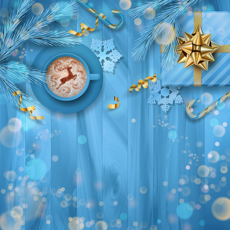 Festive Christmas Background Stock Illustratie