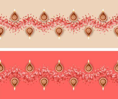 Seamless Rangoli Pattern