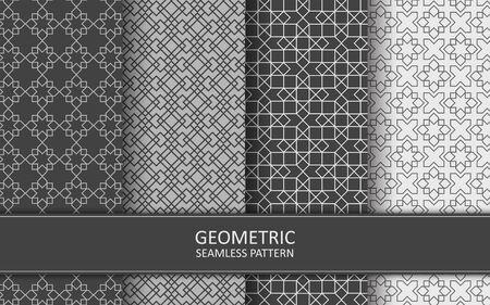 Geometric Oriental Pattern Ilustración de vector