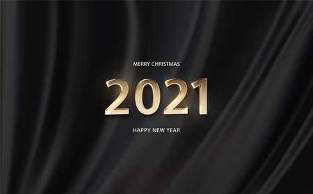 Happy New Year 2021 banner