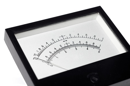 The image of the measuring device isolated, on a white background photo