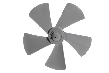 Iimpeller fan isolated on white background