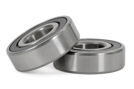 Bearings, isolated on a white background photo