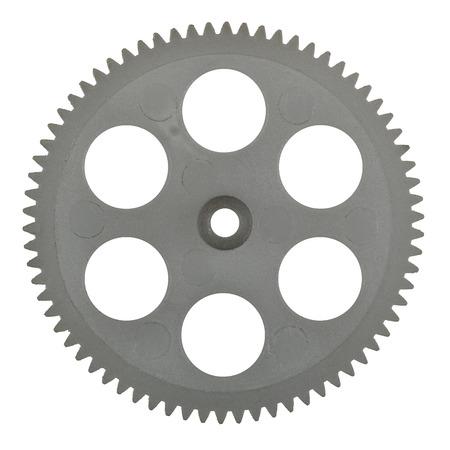 pinion: Plastic pinion, isolated on white background Stock Photo