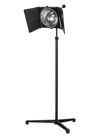 strobe: Photo studio lighting equipment, isolated on white background
