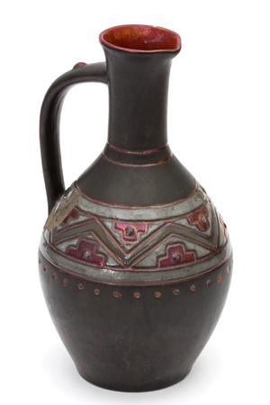 Old pitcher, isolated on white background Reklamní fotografie