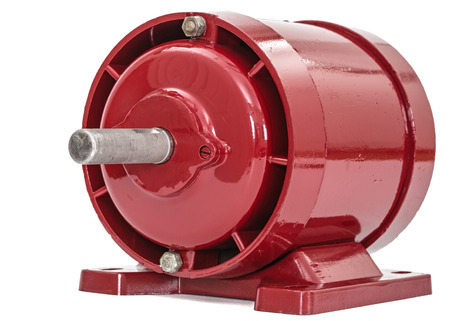 Electric motor isolated on a white background Reklamní fotografie