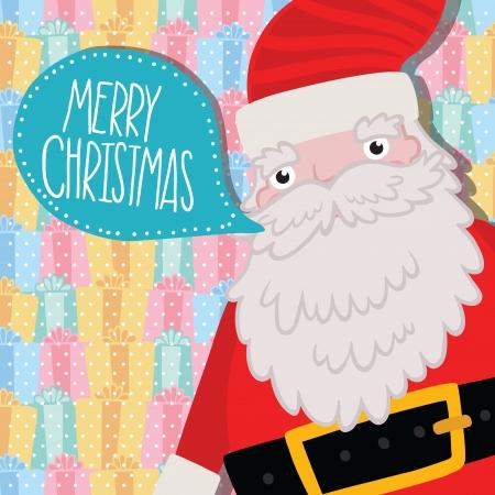 greybeard: Babbo Natale con il fumetto. Natale sfondo