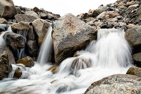 tirol: Small waterfall in Austria mountains in Tirol