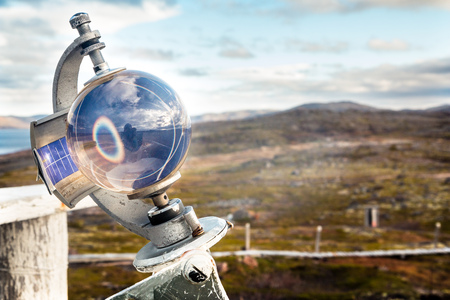 Meteorological instrument for cloud cover measurement Russia