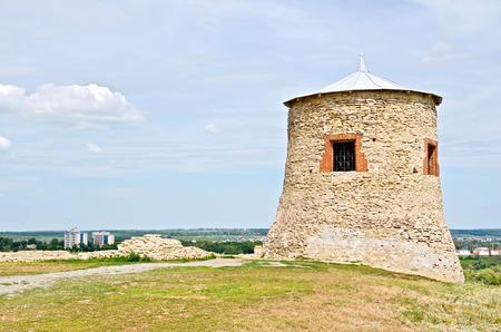 elabuga: Tower citadel fort Elabuga fort Stock Photo