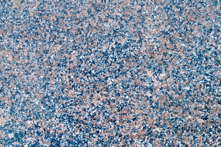 treated: Texture of natural treated black and brown spotted granite