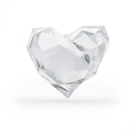 Frozen heart photo