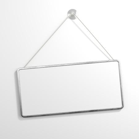 uithangbord: Ijzer teken opknoping