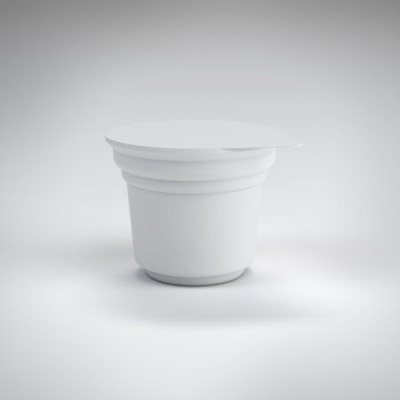White food plastic container photo