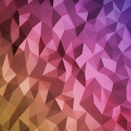 combinations: abstract triangulated background Stock Photo