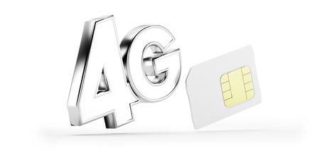 4g: 4G SIM card