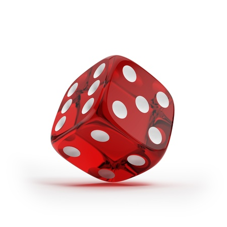 probability: Shiny red dice